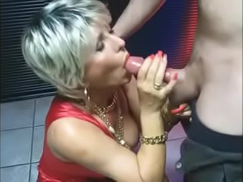 Christmas party blow job