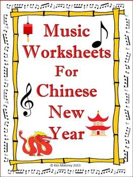 Chinese new year music lesson