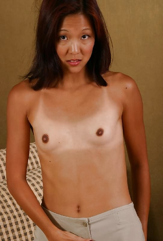 Flat chested chinese naked